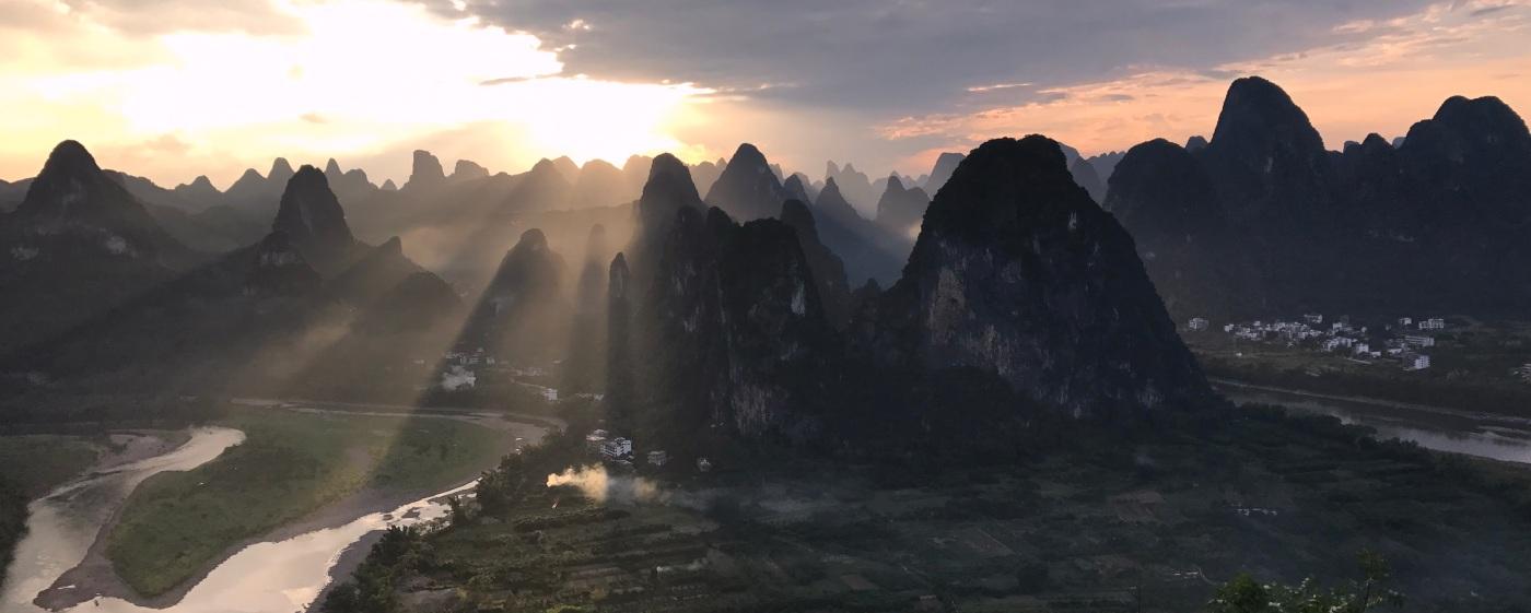 Xingping Mountains Li River China