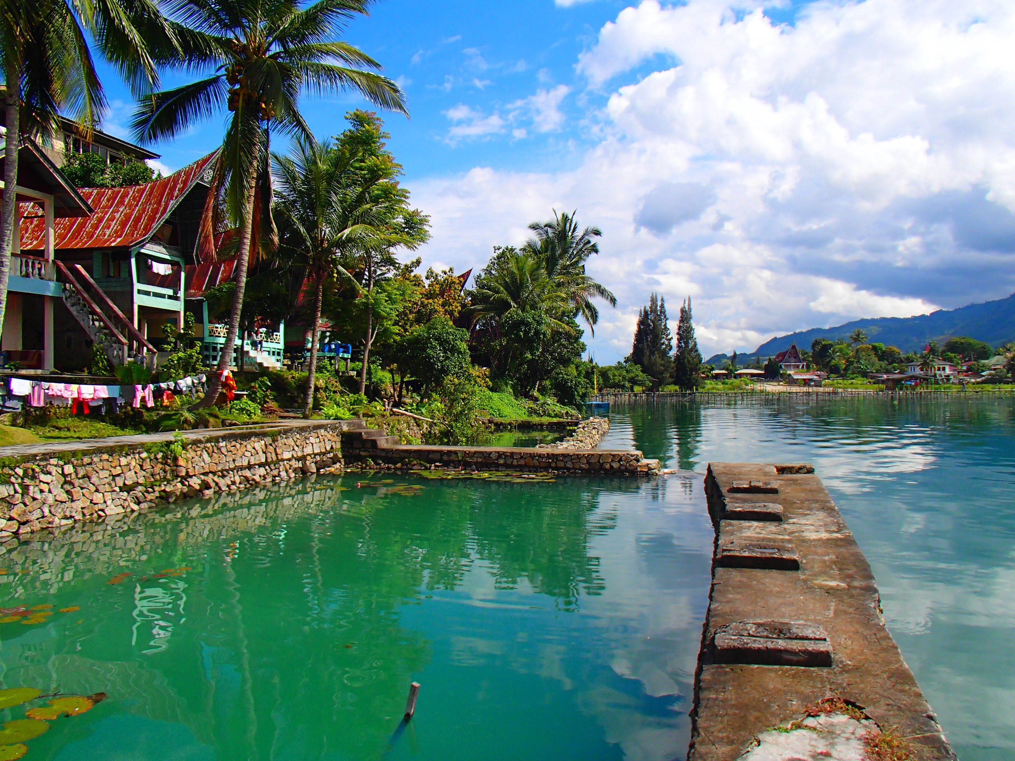 Lake Toba, Sumatra, Indonesien