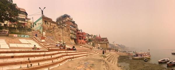Ghats in Varanasi India