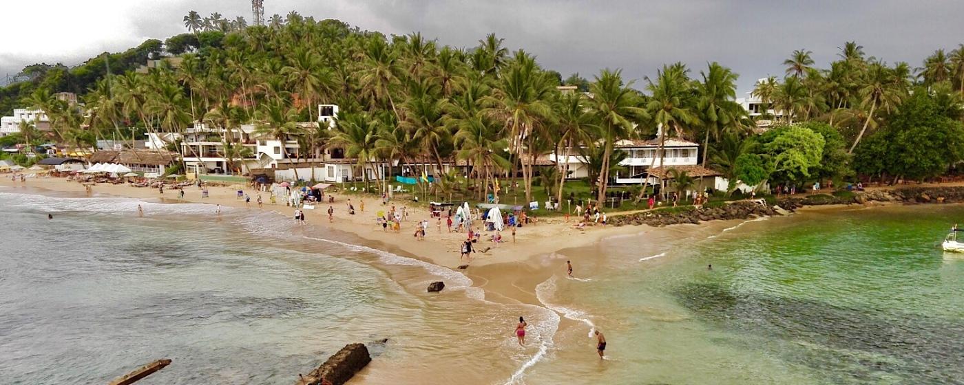 Beach Mirissa Sri Lanka