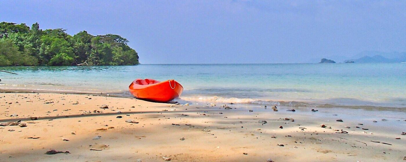 Beach in Koh Jum Thailand